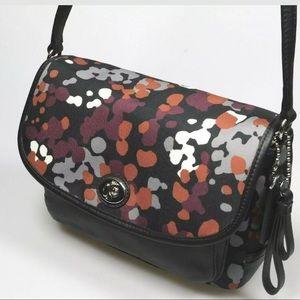 Coach Park Splatter Print Crossbody Bag